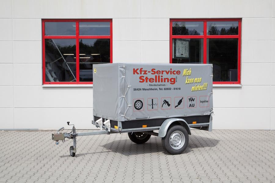 Anhänger max. 750 kg