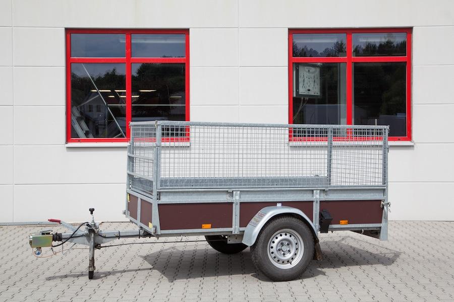 Gitter Anhänger  max. 1200 kg gebremst