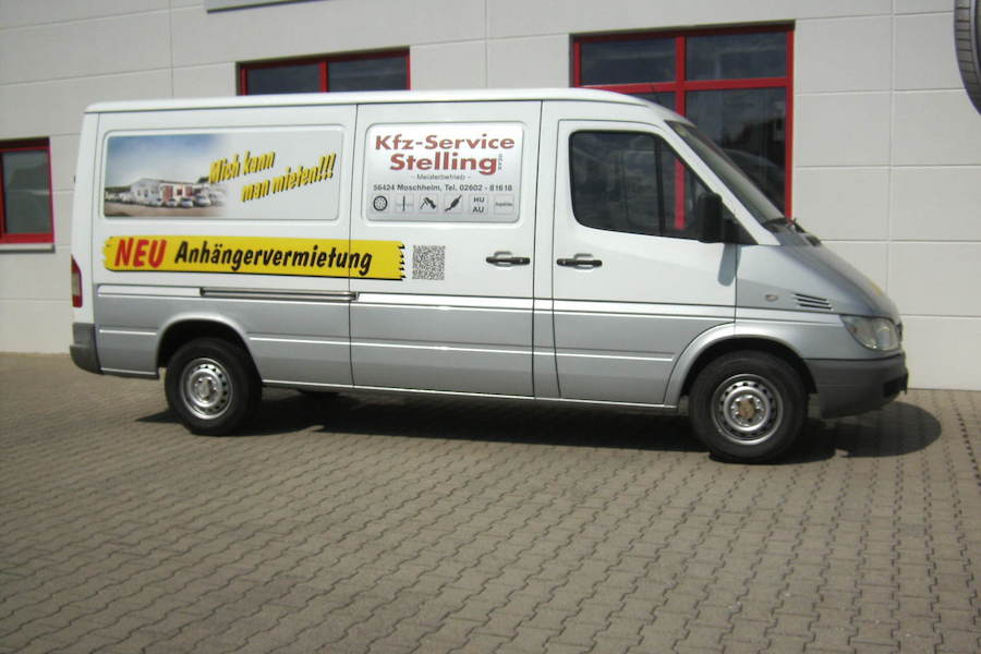 Mercedes Benz Sprinter Kasten